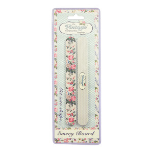The Vintage Cosmetic Company Floral Emery Boards (2er-Packung)