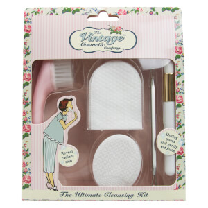 Набор очищающих средств The Vintage Cosmetic Company Ultimate Cleansing Kit