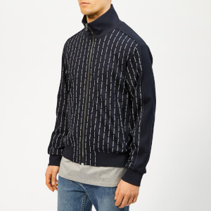 Wooyoungmi Men's Zip Track Top - Navy