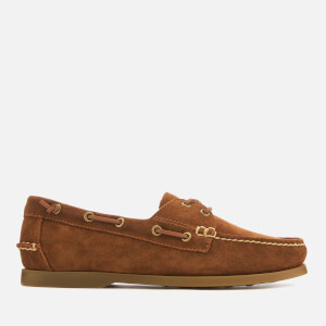 Polo Ralph Lauren Men's Merton Suede Boat Shoes - New Snuff