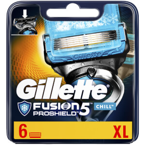 Gillette Fusion5 ProShield Chill Razor Blades (6 Pack)