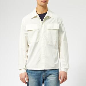 Universal Works Men's MW Chore Overshirt - Poplin Ecru