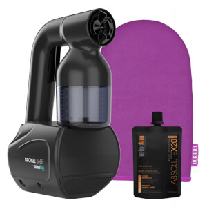 MineTan Bronze Babe Personal Spray Tan Kit - Black 50ml