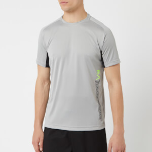 Emporio Armani EA7 Men's Ventus 7 Short Sleeve T-Shirt - Wet Weather