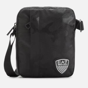 Emporio Armani EA7 Men's Train Soccer Pouch Bag - Nero