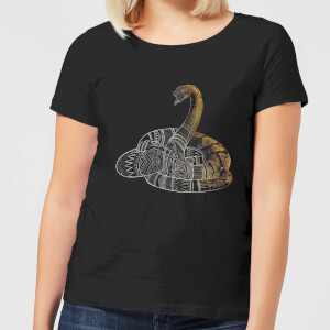 Fantastic Beasts Tribal Nagini Women's T-Shirt - Black