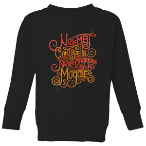 Fantastic Beasts No-Maj Kids' Sweatshirt - Black