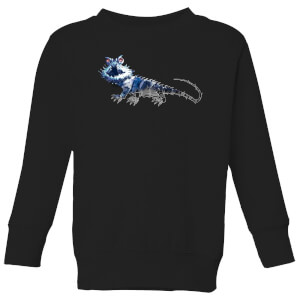 Fantastic Beasts Tribal Chupacabra Kids' Sweatshirt - Black