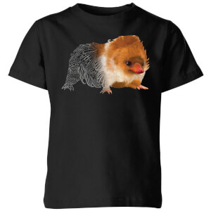 Fantastic Beasts Tribal Baby Niffler Kids' T-Shirt - Black