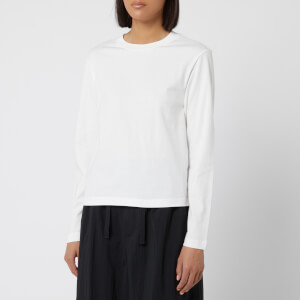 Y-3 Women's Yohji Love Tubular Long Sleeve T-Shirt - Core White