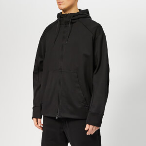 Y-3 Men's Signature Graphic Full Zip Hoody - Black