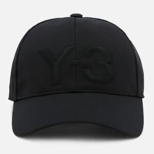 Y-3 Logo Cap - Black