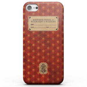 Harry Potter Gryffindor Text Book telefoonhoesje