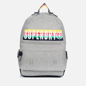 Superdry Women's Retro Band Montana Backpack - Light Grey Marl