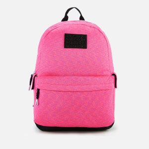Superdry Women's Jersey Stripe Montana Backpack - Pink Multi Stripe