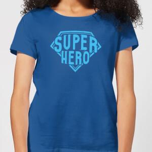 Super Hero Women's T-Shirt - Royal Blue