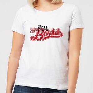 The Real Boss Women's T-Shirt - White