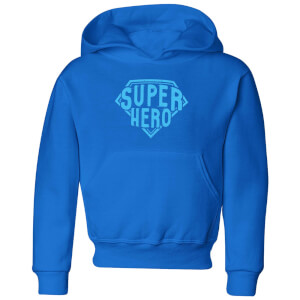 Super Hero Kids' Hoodie - Royal Blue