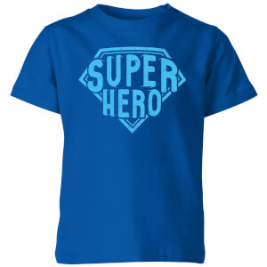 Super Hero Kids' T-Shirt - Royal Blue