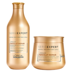 L'Oréal Professionnel Absolut Repair Lipidium Shampoo and Masque Duo