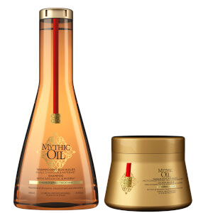 L'Oréal Professionnel Mythic Oil Shampoo and Masque for Thick Hair Duo(로레알 프로페셔널 미틱 오일 샴푸 앤 마스크 포 띠크 헤어 듀오)