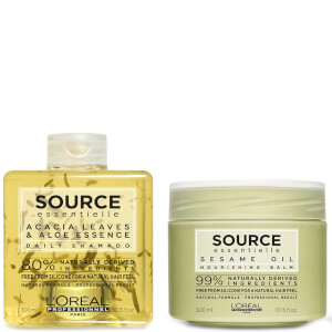 L'Oréal Professionnel Source Essentielle Daily Shampoo and Dry Hair Balm Duo