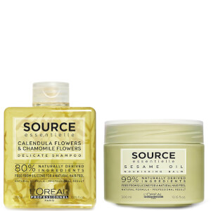 L'Oréal Professionnel Source Essentielle Sensitive Scalp Shampoo and Dry Hair Balm Duo