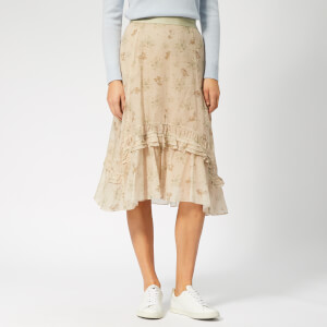 Coach 1941 Women's Prairie Skirt - Cream