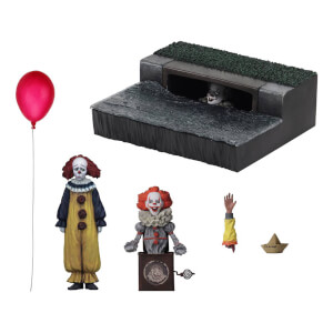 Set di accessori di Pennywise del film IT 2017, NECA