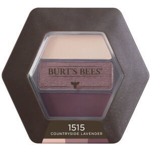 Burt's Bees 100% Natural Eyeshadow Trio - Countryside Lavender