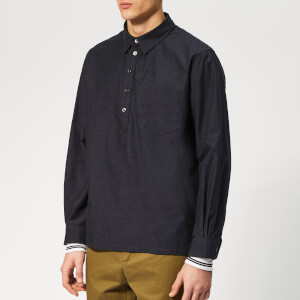 A.P.C. Men's Luke Liquette Shirt - Dark Navy