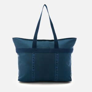 A.P.C. Men's Paulin Tote Bag - Marine
