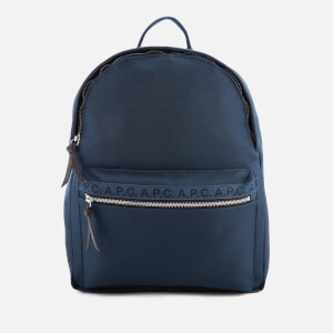 A.P.C. Men's Marc Backpack - Marine