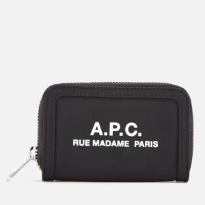 A.P.C. Men's Recuperation Compact Wallet - Noir