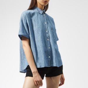 Levi's Women's Maxine Shirt - Light Mid Wash