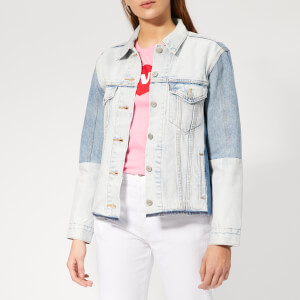 Levi's Women's Ex-BF Sport PC Trucker Jacket - End Game