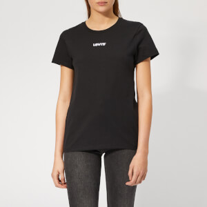 Levi's Women's The Perfect T-Shirt - Type Center Black