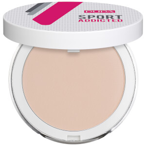 PUPA Sport Exclusive Addicted Powder Sweat and Water Resistant Compact Powder 7 g - Light Beige