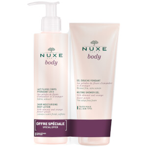 NUXE Body - Moisturising Body Lotion + Melting Shower Gel (Worth £43.50)