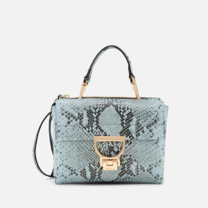 Coccinelle Women's Arlettis Python Bag - Atmosphere