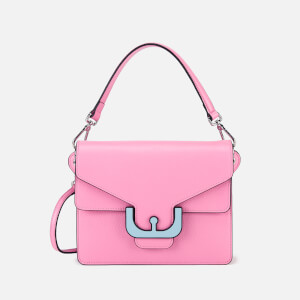 Coccinelle Women's Ambrine Graphic Cross Body Bag - Bubble Gum