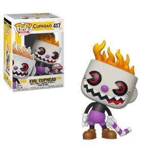 Figurine Pop! Méchant Cuphead - EXC NYCC