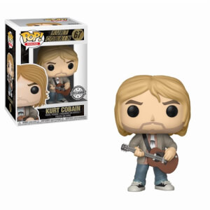 Figurine Pop! Rocks Kurt Cobain avec Sweatshirt - Nirvana - EXC