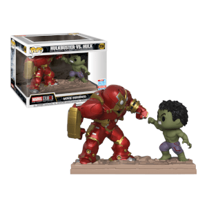 Figurine Pop! Movie Moment Marvel Hulkbuster vs. Hulk
