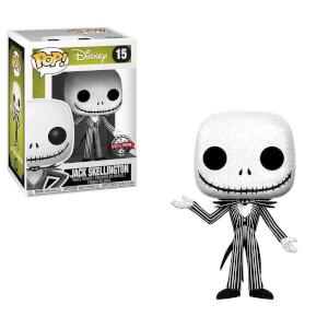 Nightmare Before Christmas Jack Skellington Glitter EXC Pop! Vinyl Figure