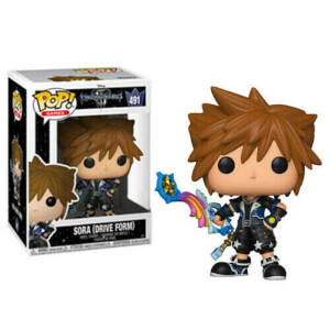Disney Kingdom Hearts 3 Sora (Drive Form) EXC Pop! Vinyl Figure