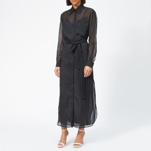 Victoria, Victoria Beckham Women's Long Shirt Dress - Black