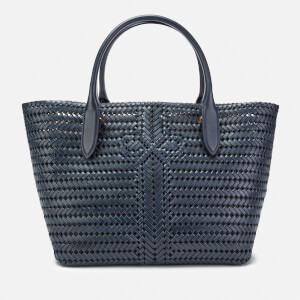 Anya Hindmarch Women's The Neeson Calf Leather Tote Bag - Marine