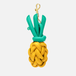 Anya Hindmarch Women's Woven Pineapple Charm - Yellow