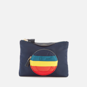 Anya Hindmarch Women's Nylon Wink Chubby Pouch - Night Sky